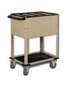 Wolf X-Ray Corporation 80-045 Top Loading Cart with 4 Compartments