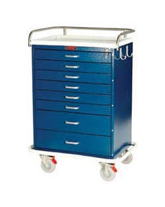 Harloff Tall Mobile Anesthesia Workstations, Base Model-15753