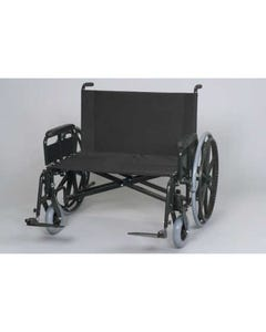 "Gendron 6834-20-62 Bariatric Manual Wheelchair w/ Removable Full Length Arms, 34"" x 20"" Seat, 850 lbs Capacity , 6834-20-62-18831"