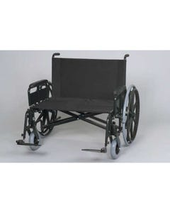 "Gendron 6834-22-62 Bariatric Manual Wheelchair w/ Removable Full Length Arms, 34"" x 22"" Seat, 850 lbs Capacity , 6834-22-62-18832"