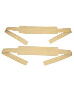 Morrison Medical 1478TAN KED Head and Chin Straps