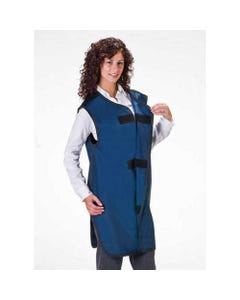 Wolf X-Ray Front Closing Special Procedure X-Ray Aprons, Lightweight Lead, Medium