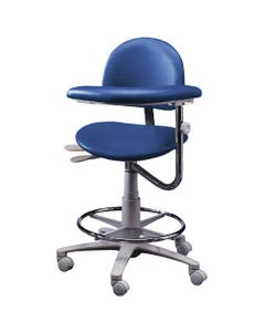 Brewer Design 3355 Classic Dental Assistant Stools, Seamless Upholstery, Left-21859