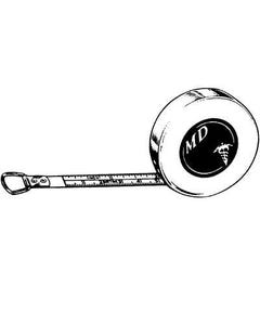 Sklar Instruments 60 Inch Tape Measure, Inches and Centimeters