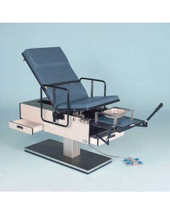 Hausmann Wheelchair Accessible Exam Table, Right Hand Drawers, with Duplex Outlet