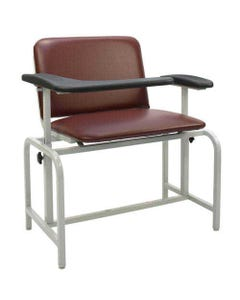 Winco 2575 Bariatric Blood Drawing Chair, Standard Colors, with TB 133 CAL Fire Code Upholstery-24420