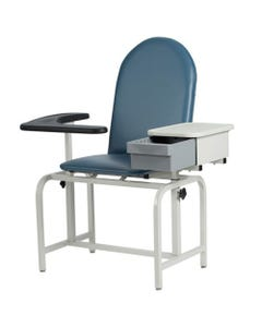 Winco 2572 Blood Drawing Chair with Cabinet, Standard Colors-24426