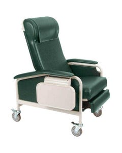 Winco 6530 CareCliner Clinical Recliner with Tray, Standard, Standard Colors
