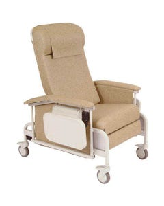 Winco 6550 CareCliner Drop Arm Recliner with Tray, Standard, Standard Colors