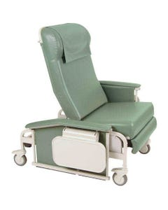 Winco 6570 CareCliner Drop Arm Recliner with Tray, Extra Large, Standard Colors
