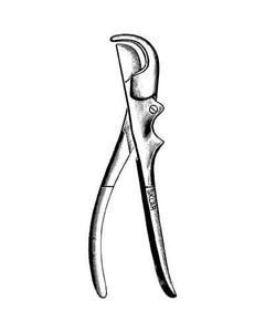 "Sklar Instruments 55-1687 Gluck Rib Shears, 8.75"", 55-1687-28746"