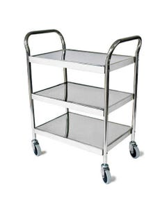 GF Health Products Grafco 8146 Stainless Steel Utility Cart, 8146-30512