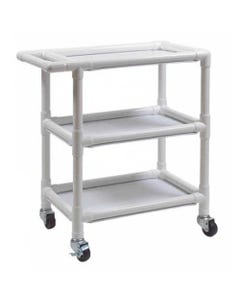GF Health Products Lumex 8520 PVC Utility Cart with 3 Shelves, 8520-30515