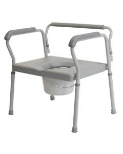 "GF Health Products Lumex 7446A-2 Imperial 3-in-1 Steel Commode, 26"", 7446A-2-31173"