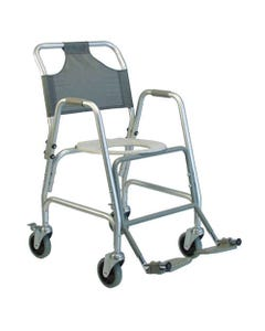GF Health Products Lumex 7915A-1 Deluxe Shower / Toilet Transport Chair