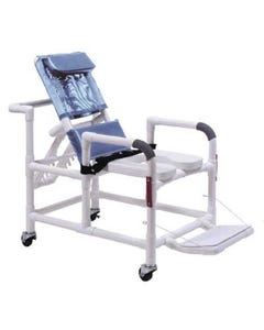 GF Health Products Lumex 89330 Reclining Shower Chair with Drop Down Arms, 89330-31579
