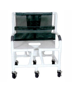 "GF Health Products Lumex PVC Shower Commode Chairs, 700 lbs (30"" Width)-31581"