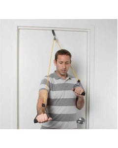Cando Shoulder Pulley with Exercise Tubing and Handles