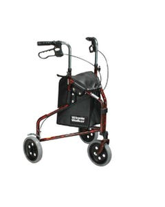 Fabrication Enterprises 3 Wheel Rollator with Brake