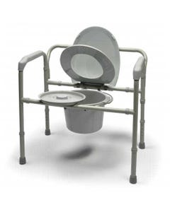 "GF Health Products Lumex 7109A Bariatric Folding Commode, 30"", 7109A-2-36592"