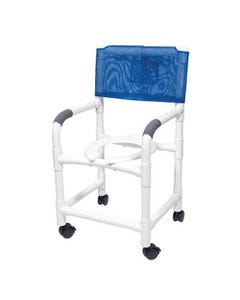 "GF Health Products Lumex PVC Shower Commode Chairs, 700 lbs (30"" Width)-36640"