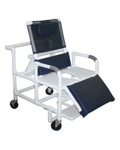 GF Health Products Lumex Bariatric Reclining Shower Commode Chairs, 600 lbs-36646