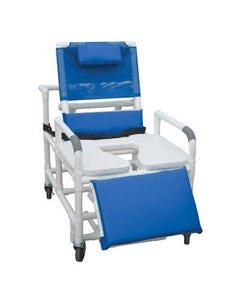 GF Health Products Lumex Bariatric Reclining Shower Commode Chairs, 600 lbs-36647