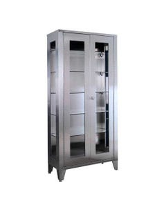 UMF Medical SS7840 Stainless Steel Large Storage and Supply Cabinet, SS7840