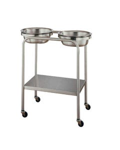 UMF Medical Stainless Steel Basin Stands