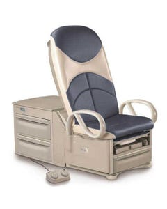 Brewer 6801 Access High Low Bariatric Exam Table, 700 lb Capacity, Standard Upholstery