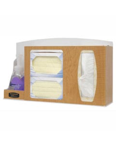 Bowman Faux Wood Respiratory Hygiene Stations