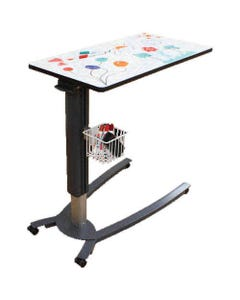Novum Medical iSeries Low Base Overbed Tables, Laminate Surface-46517
