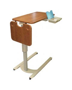 Novum Medical iSeries Low Base Overbed Tables with Flip Side Table-46519