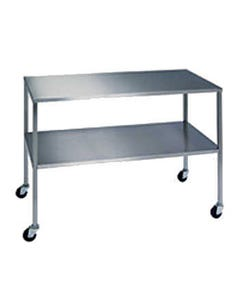 Novum Medical Stainless Steel Surgical Tables with Shelves