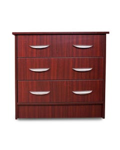 Novum Medical Wood Finish Patient Chests of Drawers, Lexington Series, 3 Drawers-46567