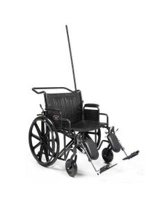Traveler HTC Bariatric Hospital Transport Chair
