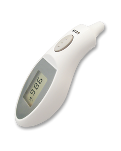 Dynarex 5612 Infrared Ear Thermometer, Case of 10