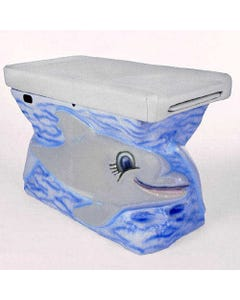 Pedia Pals ZooPals 4800 Compact Dolphin Pediatric Exam Table, 4800-GR-567