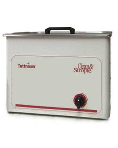 Tuttnauer CSU3 Clean & Simple Ultrasonic Cleaning Systems - CESS-91827-FREE - 3 Gallon