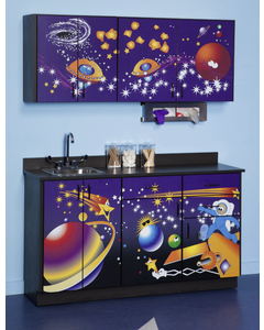Clinton 6135 Pediatric Exam Room Cabinets, Space Place