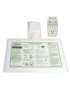 """Smart Caregiver 433SC1-SYS (SMC1-SYS) Smart Outlet with 10"""" X 15"""" Cordless Chair Pad and Remote Reset , 433SC1-SYS-61839"""