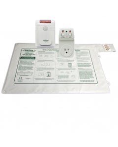 """Smart Caregiver 433SBW1EC-SYS (SMBW1-ECSYS) Smart Outlet and Economy Cordless Monitor with 20"""" X 30"""" Cordless Bed Pad with Remote Reset , 433SBW1EC-SYS-61842"""