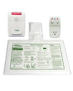 """Smart Caregiver 433SC1EC-SYS (SMC1-ECSYS) Smart Outlet and Economy Cordless Monitor with 10"""" X 15"""" Cordless Chair Pad and Remote Reset , 433SC1EC-SYS-61843"""