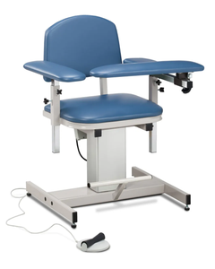 Clinton Power Series Blood Drawing Chair with Padded Arms