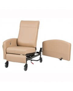Winco Vero Multi-Position Patient Recliners with Swing Away Arms, Standard Upholstery, Standard Colors, Pedestal Feet