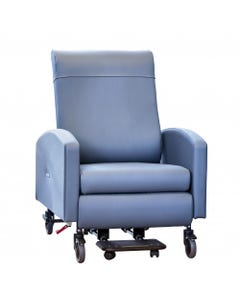 Winco Vero XL Multi-Position Fixed Arm Patient Recovery Chair, Standard Upholstery, Standard Colors, Pedestal Feet