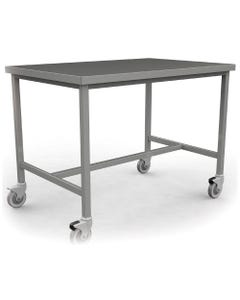 KTW Stainless Steel Prep and Pack Workstations with Electric Height Adjustment
