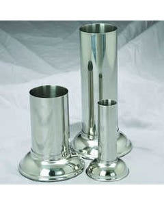 Polar Ware Stainless Steel Forceps / Thermometer Jars
