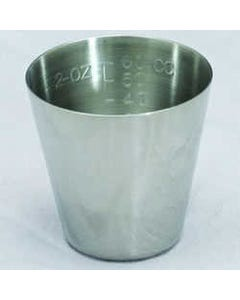 Polar Ware T2 Stainless Steel Medicine Cup, Case of 12, T2 KIT-67134