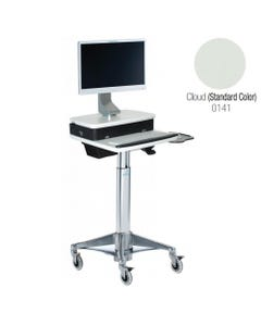 Altus H Class HHC6P5 Medical Flat Screen Computer Cart